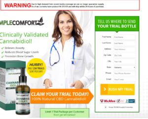 Simple Comfort CBD Oil